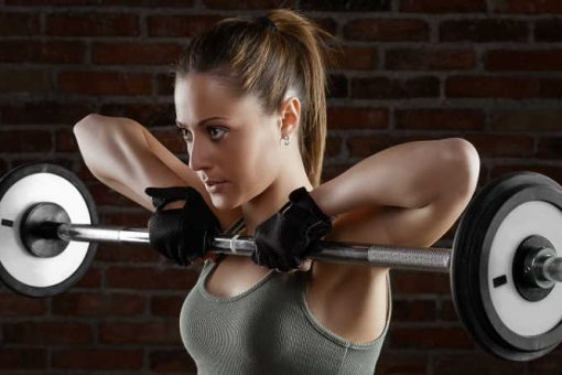 Gym hairstyles for heavy workouts